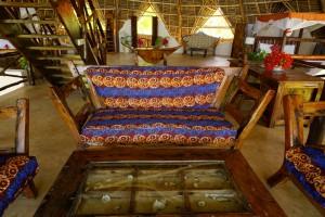 Sansibar Villa Lisa African Lounge Balkon