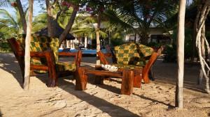Sansibar Villa Tatu Garten-Lounge