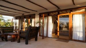 Sansibar Villa Tatu Obergeschoss Terrasse