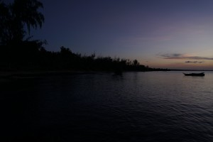 Milele Villas Sansibar  Abenddämmerung