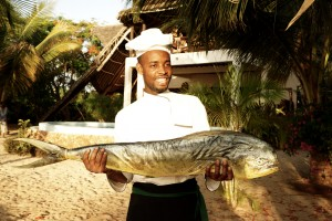"Milele Villas Sansibar ""Catch of the Day"""